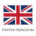 United Kingdom flag logo decal sticker