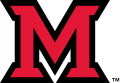 Miami (Ohio) Redhawks 2014-Pres Primary Logo decal sticker