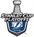 Tampa Bay Lightning 2017 18 Event Logo iron on sticker