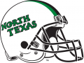 North Texas Mean Green 2005-Pres Helmet 02 iron on sticker