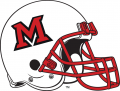 Miami (Ohio) Redhawks 1997-Pres Helmet decal sticker