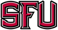 Saint Francis Red Flash 2001-2011 Alternate Logo decal sticker