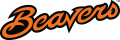 Oregon State Beavers 2013-Pres Wordmark Logo 01 iron on sticker