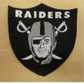 Oakland Raiders Embroidery logo