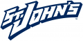 St.Johns RedStorm 1995-2003 Wordmark Logo iron on sticker