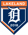 Detroit Tigers 2018 Event Logo decal sticker