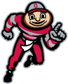 Ohio State Buckeyes 2003-Pres Mascot Logo 01 decal sticker