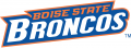 Boise State Broncos 2002-2012 Wordmark Logo decal sticker