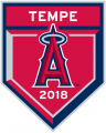 Los Angeles Angels 2018 Event Logo iron on sticker