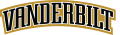 Vanderbilt Commodores 1999-2007 Wordmark Logo iron on sticker