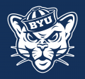 Brigham Young Cougars 2015-Pres Alternate Logo 02 iron on sticker