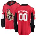 Ottawa Senators Custom Letter and Number Kits for Red Home Jersey