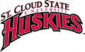 St.Cloud State Huskies 2000-2013 Wordmark Logo 01 iron on sticker