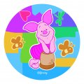 Disney Piglet Logo 08 iron on sticker