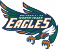 North Texas Mean Green 1995-2004 Primary Logo iron on sticker