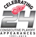Detroit Red Wings 2014 15 Misc Logo iron on sticker