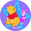 Disney Piglet Logo 14 iron on sticker