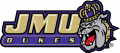 James Madison Dukes 2013-2016 Secondary Logo iron on sticker