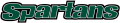 USC Upstate Spartans 2003-2010 Wordmark Logo 04 decal sticker