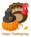 Thanksgiving Day Logo 35 decal sticker