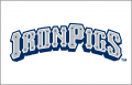 Lehigh Valley IronPigs 2008-Pres Jersey Logo iron on sticker
