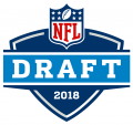 NFL Draft 2018 Logo decal sticker