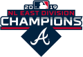 Atlanta Braves 2019 Champion Logo decal sticker