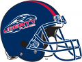 Liberty Flames 2004-2012 Helmet iron on sticker