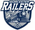 Worcester Railers HC 2017 18-Pres Primary Logo iron on sticker