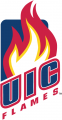Illinois-Chicago Flames 2008-Pres Primary Logo decal sticker
