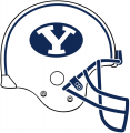 Brigham Young Cougars 2005-Pres Helmet Logo iron on sticker