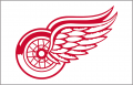 Detroit Red Wings 1983 84 Jersey Logo iron on sticker