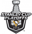 Pittsburgh Penguins 2017 18 Event Logo decal sticker