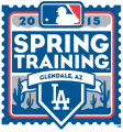 Los Angeles Dodgers 2015 Event Logo iron on sticker