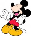 Mickey Mouse Logo 28 decal sticker