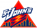 St.Johns RedStorm 2002-2003 Primary Logo iron on sticker