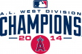 Los Angeles Angels 2014 Champion Logo iron on sticker