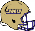 James Madison Dukes 2013-2016 Helmet iron on sticker