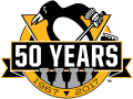 Pittsburgh Penguins 2016 17 Anniversa decal sticker
