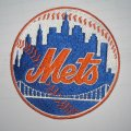 New York Mets Embroidery logo