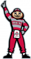 Ohio State Buckeyes 2003-2012 Mascot Logo 03 decal sticker