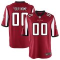 Atlanta Falcons Custom Letter and Number Kits For Red Jersey