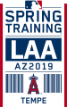 Los Angeles Angels 2019 Event Logo iron on sticker