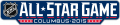NHL All-Star Game 2014-2015 Wordmark Logo iron on sticker