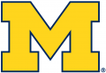 Michigan Wolverines 2012-Pres Primary Logo decal sticker