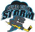 Quad City Storm 2018 19-Pres Primary Logo iron on sticker