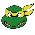 Ninja Turtle Logo 04 decal sticker