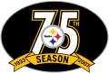 Pittsburgh Steelers 2007 Anniversary Logo decal sticker