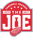 Detroit Red Wings 2016 17 Anniversary Logo iron on sticker