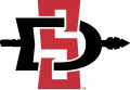 San Diego State Aztecs 2013-Pres Primary Logo decal sticker